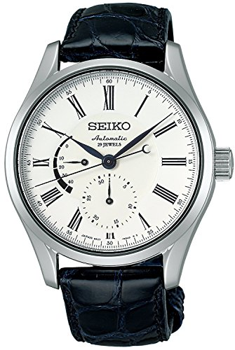 SEIKO watches PRESAGE Presage enamel dial mechanical self-winding curve sapphire glass for everyday life waterproof SARW011 Men