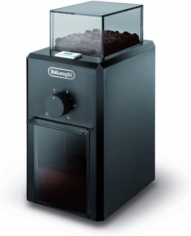 De'Longhi KG 79 Molinillo de café, 110 W, Plástico, Negro