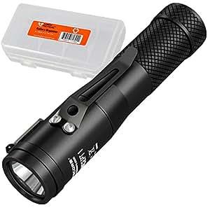 Nitecore Concept 1 1800 Lumen LED Compact Everyday Carry Flashlight & LumenTac Battery Organizer