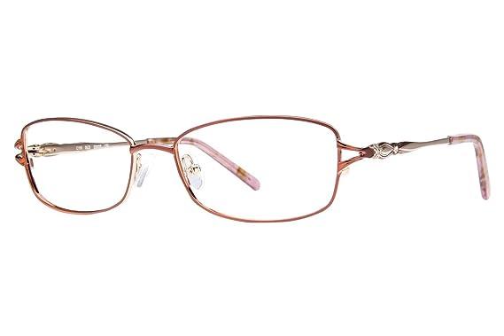 Caravaggio C116 Women\'s Eyeglass Frames - Gold at Amazon Women\'s ...