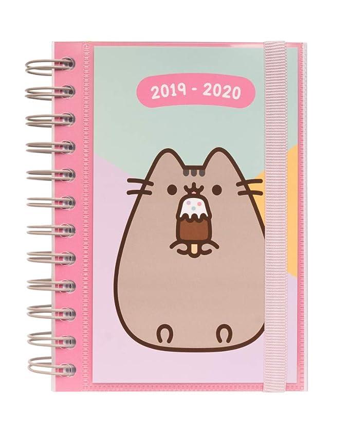 Agenda escolar 2019/2020 día página S Pusheen The Cat
