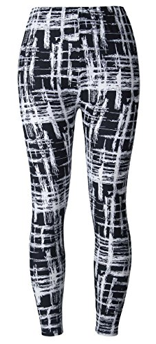 BAOMOSI Womens Leggings Ultra Soft Printed Fashion Brushed Leggings Regular and Plus Size (XS - XXXL) 11 Free Size(Fit:S,M,L )