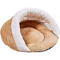 Pet Dog Bed for Dog Cat Slipper Shape House Warm Sleeping Kennel Soft Nest House Tent