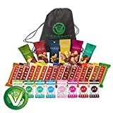 Ultimate Healthy Snacks Sampler (Including Larabar, Sahale & PUR Gum) Variety Pack of 30 with free Vigor Path Bag