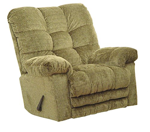 Catnapper 546892222015 Magnum Chaise Rocker Recliner, Big Man, Sage