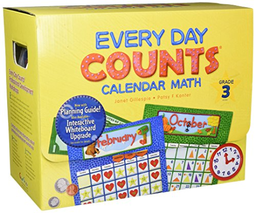 Every Day Counts: Calendar Math: Teacher Kit with Planning Guide Grade 3 ()