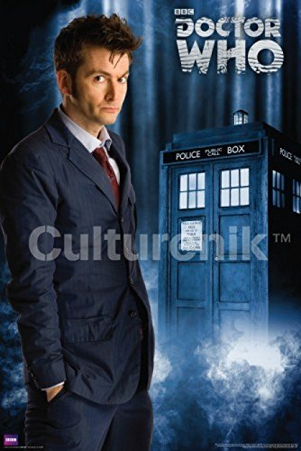 Dr who poster 10th buyer's guide