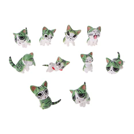Kofun - Figura Decorativa de Gato en Miniatura, diseño de Gatos en Miniatura, Color