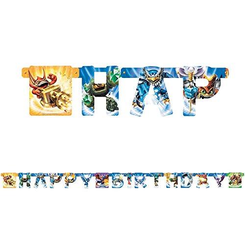 Skylanders Birthday Banner [3 Retail Unit(s) Pack] - 5027985