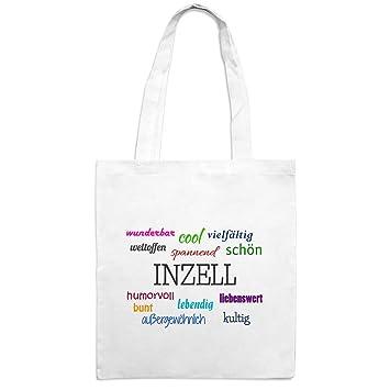 Yute bolsa con ciudad Nombre Inzell - Diseño Características ...
