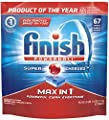 Finish Powerball Max In 1 Detergent, 74 Count