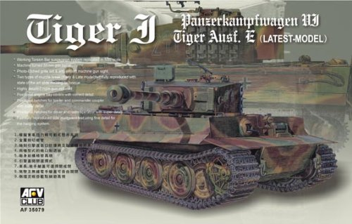 (Tiger I SdKfz 181 Late Model Tank 1-35 AFV Club)