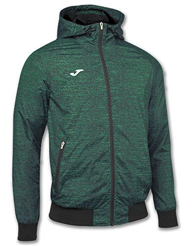 JOMA JACKET HOODED OUTDOOR BLACK-GREEN M