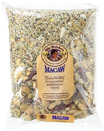 McBrides Macaw Bird Seed Mix 5 - Macaw Harvest Vitamin Sweet