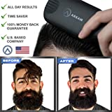 Arkam Beard Straightener for Men, Ionic Beard
