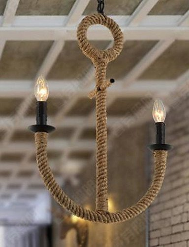 qiuxi-High-end-fashion-Interior-Ceiling-lamp-American-Rural-Water-Restoring-Ancient-Ways-Of-Anchor-Rope-Chandelier-yellow-110-120v