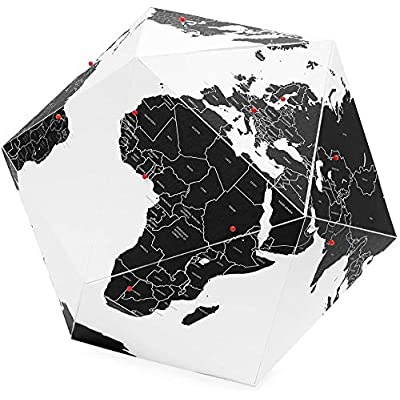Here Foldable Personal Globe,City Small: Francesco Toselli: Office Products [5Bkhe1203125]