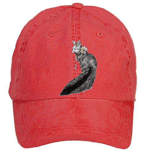 sungboys-unisex-gray-wolf-sports-baseball-hats-caps
