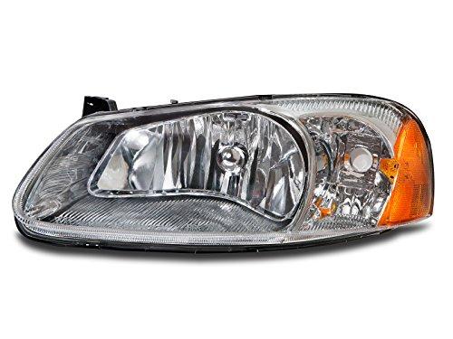 Dodge Stratus Sedan Headlight (Headlights Depot Replacement for Chrysler Sebring 4-Door Sedan/Convertible/Dodge Stratus Sedan Driver Side Headlight)