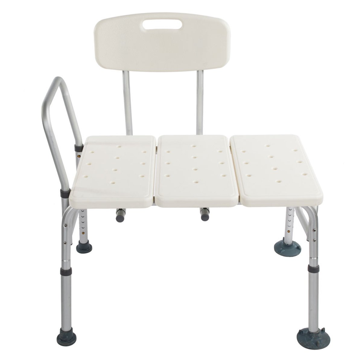 Anqi Tub Transfer 3 Blow Molding Bench Bath Chair Adjustable Handicap Shower Chair - Medical Bathroom Accessibility Aid Shower Tool Medical Tool Free Anti-Slip Bathtub Seat for Elderly, Disabled, Hand