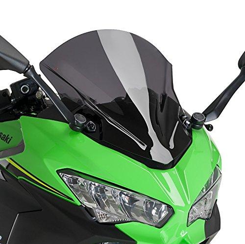 Cupula Racing Kawasaki Ninja 400 18-19 Ahumado Oscuro Puig 9976f
