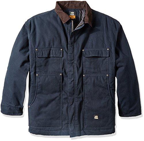 Berne Mens Big & Tall Original Washed Chore Coat