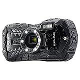 RICOH WG-50 Waterproof Still/Video Camera Digital, Black