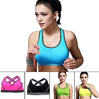 Encounter Women's Wirefree Comfort Sports Bras-Assorted Colors