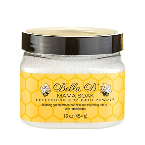 Bella B Mama Soak, Refreshing Sitz Bath Powder, 16 Oz