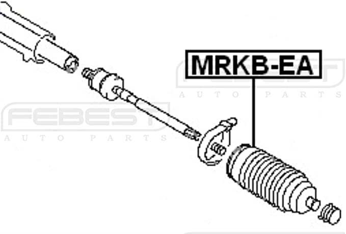 MR151976 MRKB-EA Genuine Febest Steering Gear Boot MR369122
