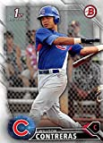 Wilson Contreras baseball card (Chicago Cubs) 2016 Topps Bowman 1st #BP16 Rookie