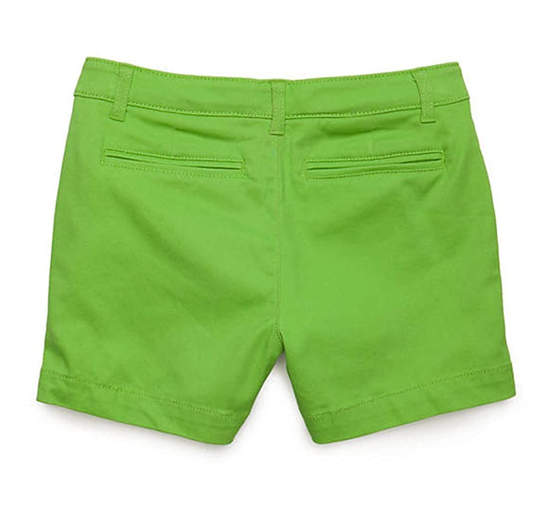 Khaki Solid Twill Shorts Girls 7-16 J