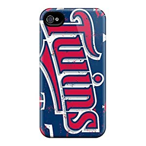 Excellent Cell-phone Hard Covers For Iphone 6plus (Uyf6697KnBN) Custom Vivid Minnesota Twins Pattern