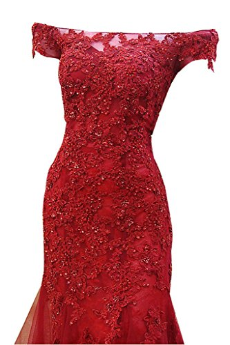 Rot Spitze Abendkleider Etuikleider Pailletten Damen Kurzarm Pink mit Ballkleider Glamour Charmant Figurbetont Partykleider q5xHFwSt