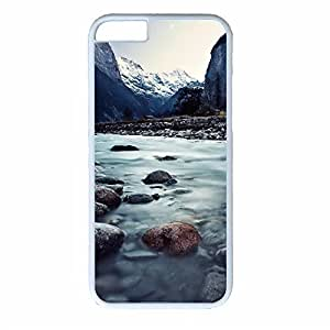iCustomonline Fairyland Case for iPhone 6 4.7inch - Protective Hard Back White Sides