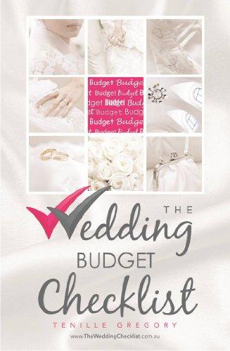 the wedding budget checklist the wedding planning checklist series