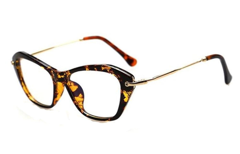 Women Cat Eye Glasses Classic Optical Vintage Glasses Frame Eyeglasses