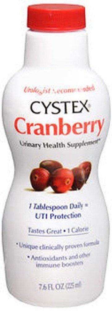 Cystex Liquid Cranberry Complex Supplement - 7.6 oz. (4 Pack)