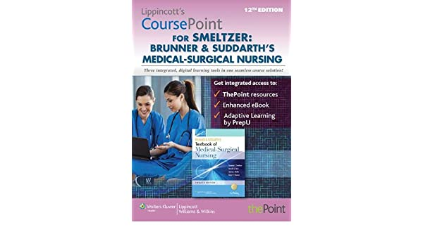 Lippincott coursepoint for brunner suddarths medical surgical lippincott coursepoint for brunner suddarths medical surgical nursing 9781469833019 medicine health science books amazon fandeluxe Image collections