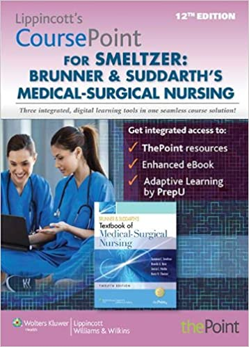 Lippincott coursepoint for brunner suddarths medical surgical lippincott coursepoint for brunner suddarths medical surgical nursing twelfth edition fandeluxe Image collections