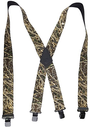 SHADOW GRASS MOSSY OAK CAMOUFLAGE - USA MADE CUSTOM SUSPENDERS - 2