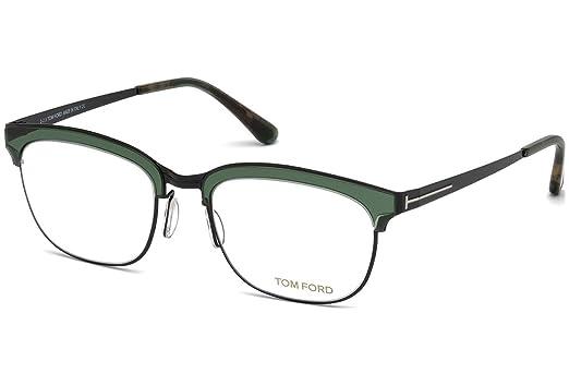 5fd98e41093 Amazon.com  Tom Ford frame (TF-5393 098) Metal - Plastic Shiny Black ...