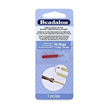 Beadalon Wire Rounder Burr Attachment Use with Battery Operated Bead Reamer and 16, 18 and Smaller Gauge Wires by Beadalon