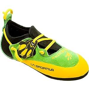 La Sportiva Stickit Shoe - Kid's Green / Yellow 26 / 27