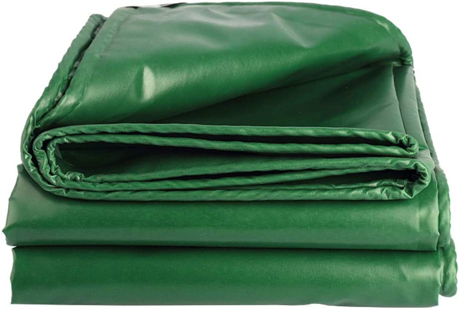 屋外用肥厚レインクロスターポリンレインクロスクロスターポリンクロスRainTarpaulinプラスチック品質カバー540グラム/平方メートル(緑),5*5m