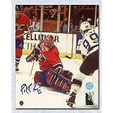 Patrick Roy Montreal Canadiens Autographed Finals Save vs Gretzky 16x20 Photo
