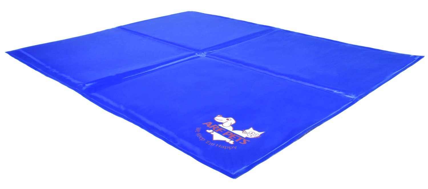 Pet Dog Self Cooling Mat Pad for Kennels, Crates and Beds 31 X 37 - Arf Pets by Arf Pets (Image #3)