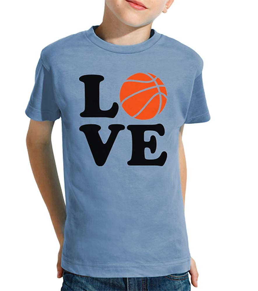 latostadora - Camiseta Amor de Baloncesto para Nino y Nina ...