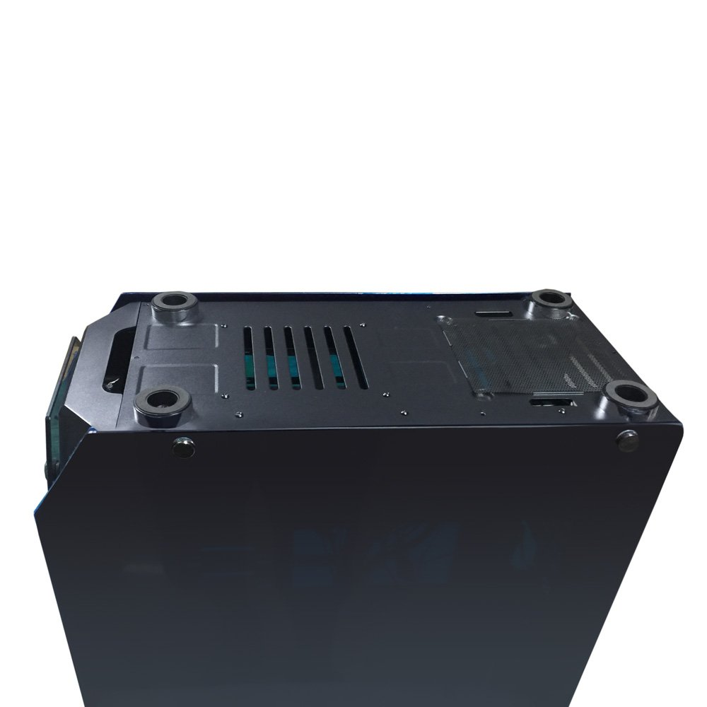 Negra USB 3.0-2X USB 2.0 Sin Fuente Talius Caja ATX Gaming Kraken Tornado 4 Paneles de Cristal Templado