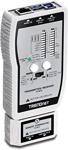 TRENDnet VDV and USB Cable Tester TC-NT3 by TRENDnet